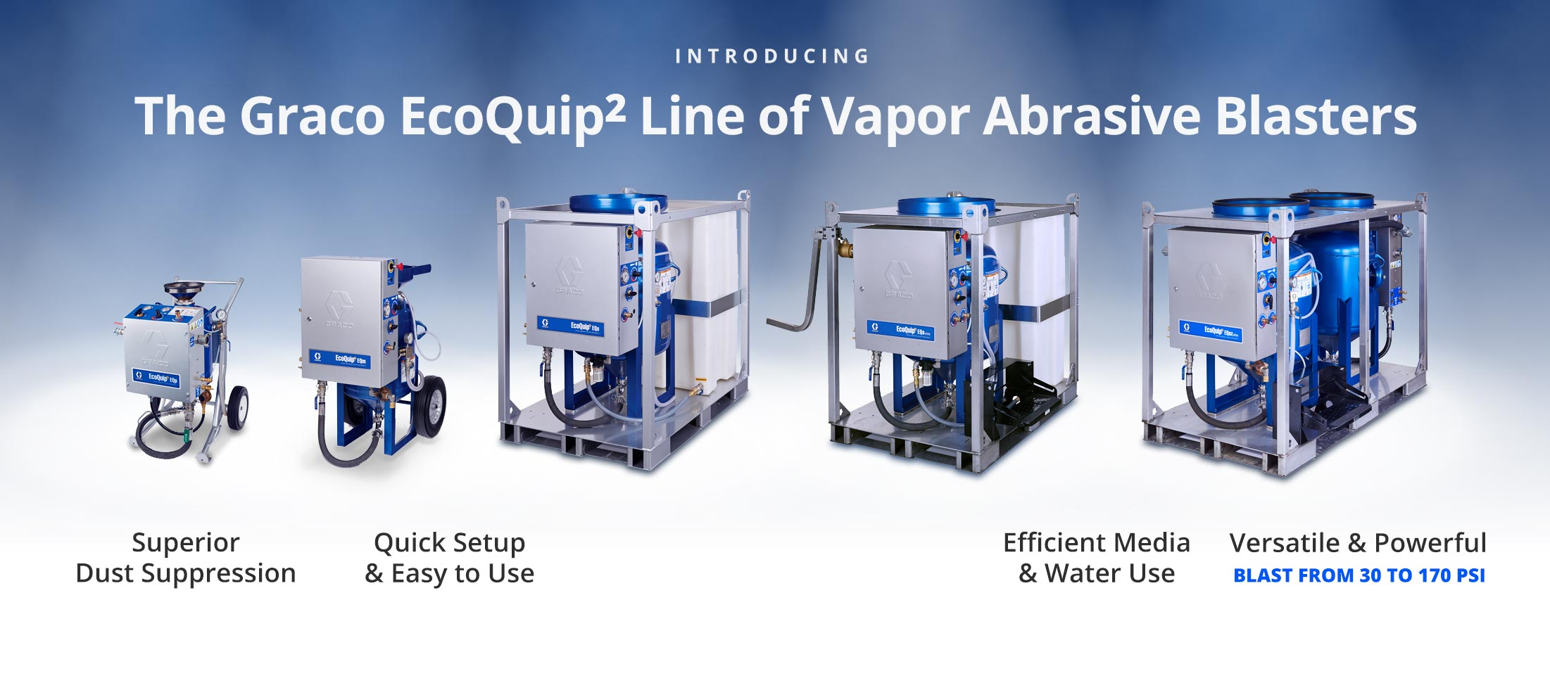 Blastall Equipment & Supply - Graco Ecoquip Vapor Abrasive